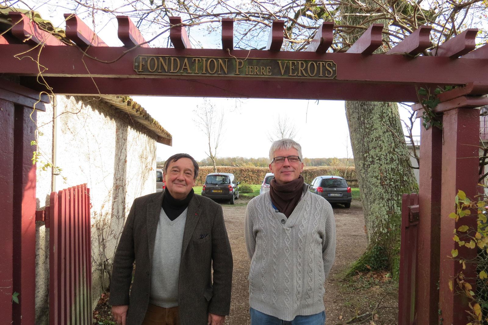 M. Jean-Pierre Poly Président du Conseil d'Administration et M. Philippe Normand Président du Comité Scientifique