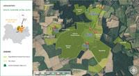Carte du Domaine de Praillebard
